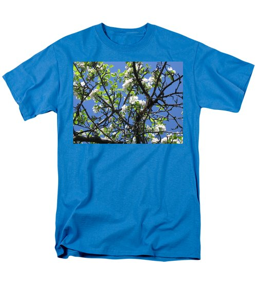 Mn Apple Blossoms Men's T-Shirt  (Regular Fit) by Barbara Yearty