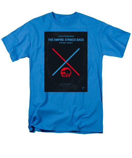 No155 My Star Wars Episode V The Empire Strikes Back Minimal Movie Poster Men's T-Shirt  (Regular Fit)