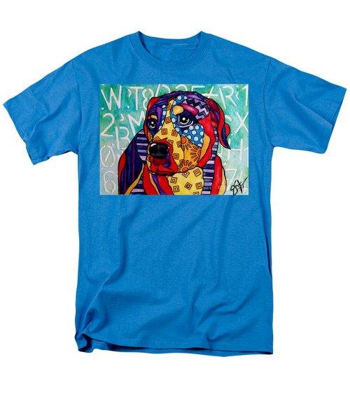 Norman  Men's T-Shirt  (Regular Fit) by Jackie Carpenter