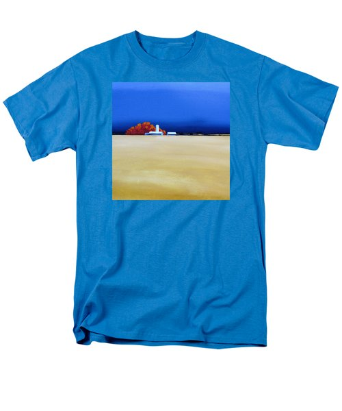 Men's T-Shirt  (Regular Fit) featuring the painting October Fields by Jo Appleby