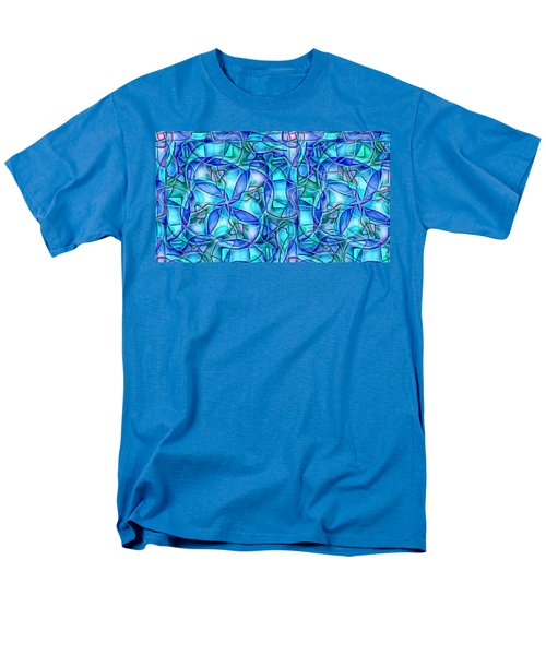 Men's T-Shirt  (Regular Fit) featuring the digital art Organic In Square by Ron Bissett