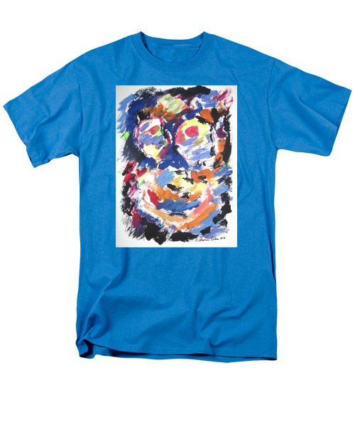 Men's T-Shirt  (Regular Fit) featuring the painting Partial Blackout by Esther Newman-Cohen