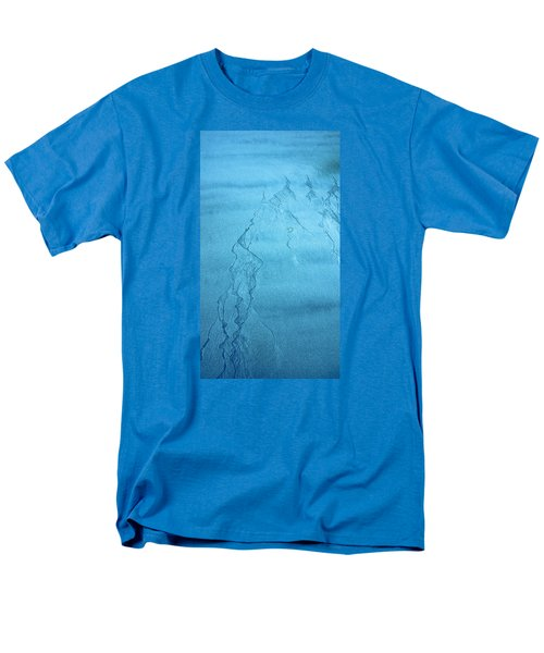Patterns In The Sand Men's T-Shirt  (Regular Fit) by Michele Cornelius