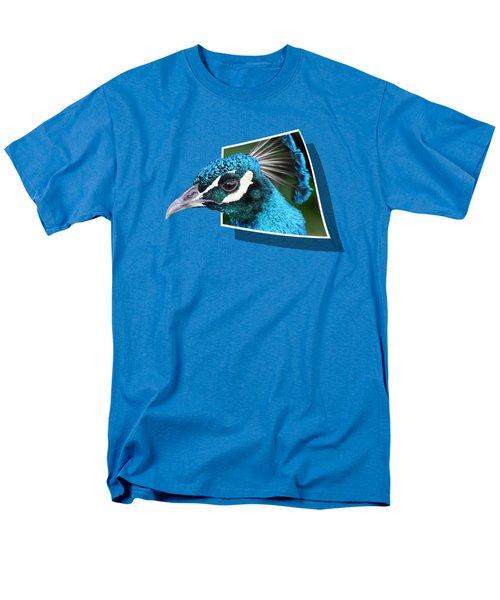 Peacock Men's T-Shirt  (Regular Fit) by Shane Bechler