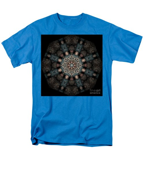 Men's T-Shirt  (Regular Fit) featuring the digital art Persnickety Palpitations Of Magnificent Malformations by Rhonda Strickland