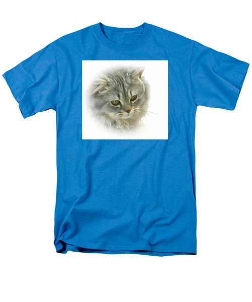 Pretty Kitty Men's T-Shirt  (Regular Fit) by Debbie Stahre