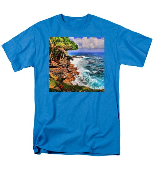 Men's T-Shirt  (Regular Fit) featuring the photograph Puna Coast Hawaii by DJ Florek