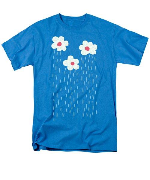 Raining Flowery Clouds Men's T-Shirt  (Regular Fit)