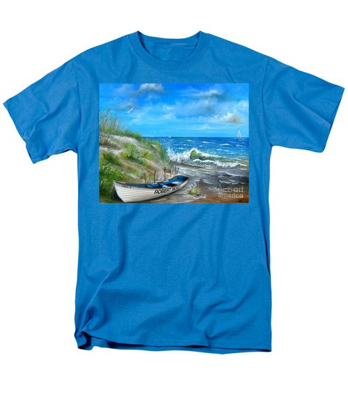 Robert Moses Beach Men's T-Shirt  (Regular Fit) by Patrice Torrillo