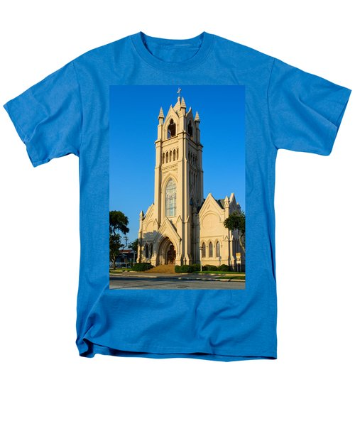 Saint Patrick Catholic Church Of Galveston Men's T-Shirt  (Regular Fit) by Tikvah's Hope