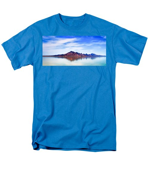 Salt Lake Mountain Men's T-Shirt  (Regular Fit) by Robert FERD Frank