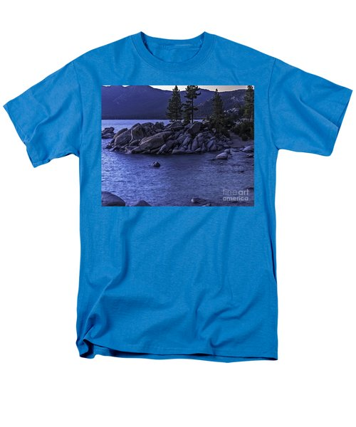 Sand Harbor South Men's T-Shirt  (Regular Fit) by Nancy Marie Ricketts