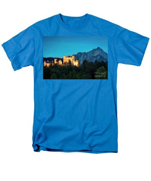 Men's T-Shirt  (Regular Fit) featuring the photograph Schloss Hohenschwangau by Brian Jannsen