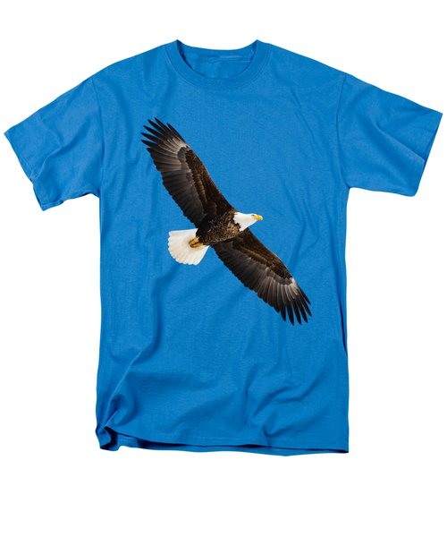 Men's T-Shirt  (Regular Fit) featuring the photograph Soaring Eagle by Greg Norrell
