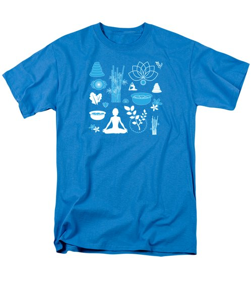Spa Background Men's T-Shirt  (Regular Fit) by Serena King