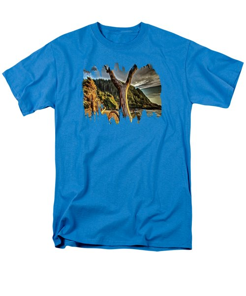 Sun Setting On Cape Perpetua Men's T-Shirt  (Regular Fit) by Thom Zehrfeld