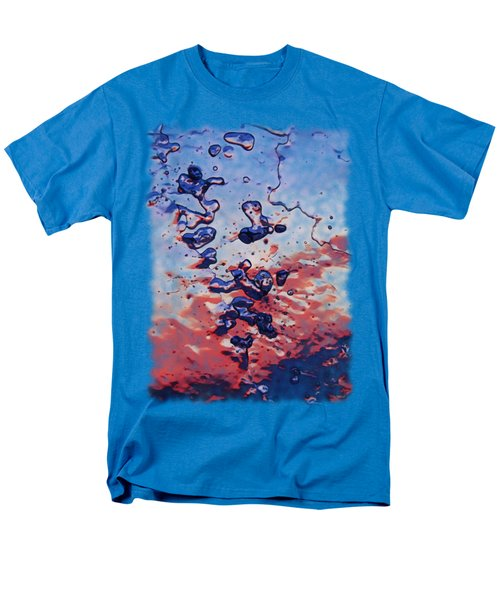 Men's T-Shirt  (Regular Fit) featuring the photograph Sunset Flakes by Sami Tiainen