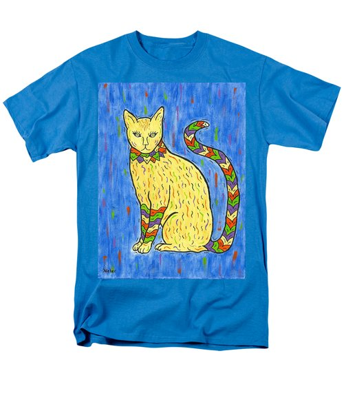 Tabby Kat Men's T-Shirt  (Regular Fit) by Susie WEBER