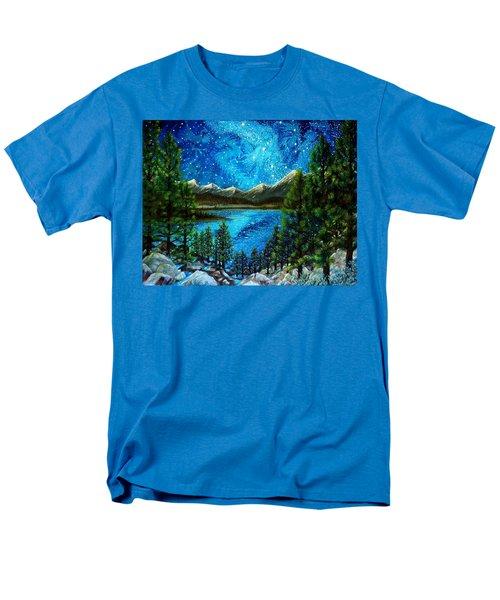 Tahoe A Long Time Ago Men's T-Shirt  (Regular Fit) by Matt Konar