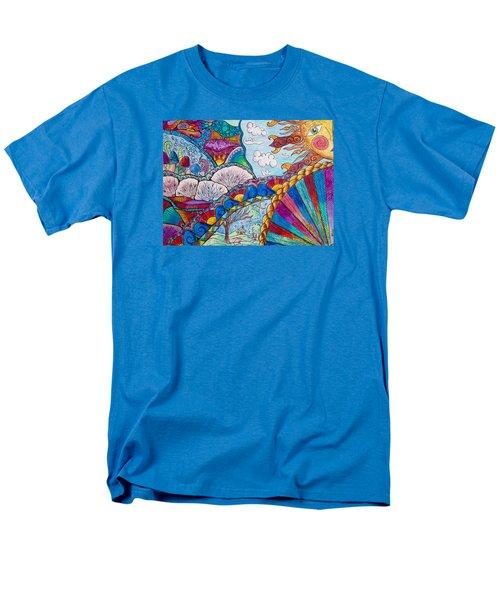 Tapestry Of Joy Men's T-Shirt  (Regular Fit) by Megan Walsh