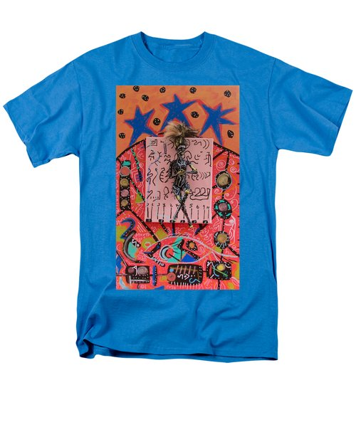 Men's T-Shirt  (Regular Fit) featuring the painting Teasel Herbal Tincture by Clarity Artists
