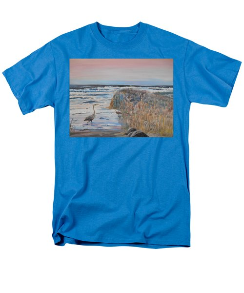 Texas - Padre Island Men's T-Shirt  (Regular Fit) by Christine Lathrop