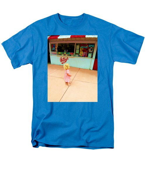 Men's T-Shirt  (Regular Fit) featuring the photograph The Candy Store by Lanita Williams