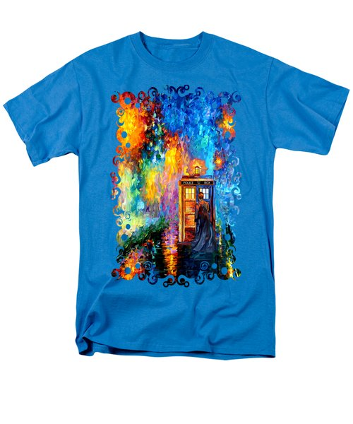 The Doctor Lost In Strange Town Men's T-Shirt  (Regular Fit)