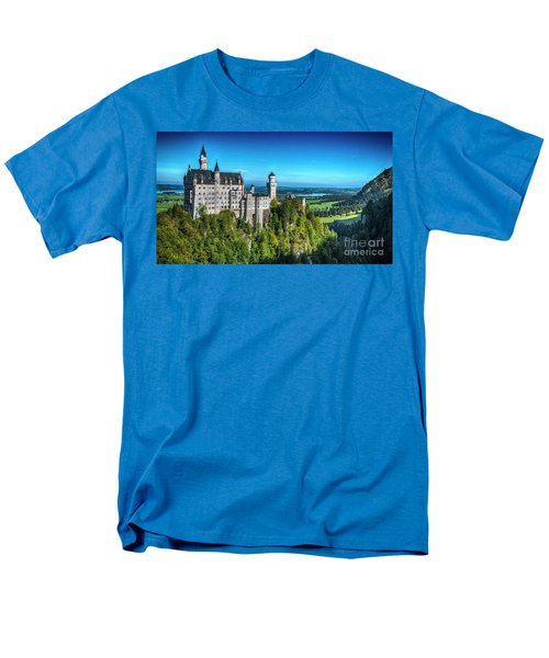 The Fairy Tale Castle Men's T-Shirt  (Regular Fit) by Pravine Chester