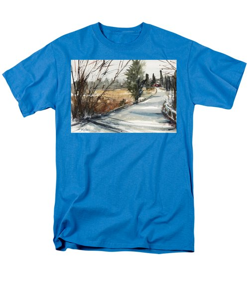 The Road Home Men's T-Shirt  (Regular Fit) by Judith Levins