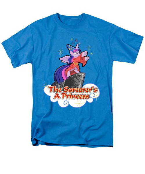 Men's T-Shirt  (Regular Fit) featuring the digital art The Sorcerer's A Princess by J L Meadows