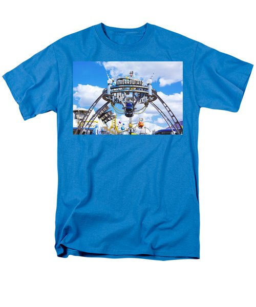 Men's T-Shirt  (Regular Fit) featuring the photograph Tomorrowland by Greg Fortier