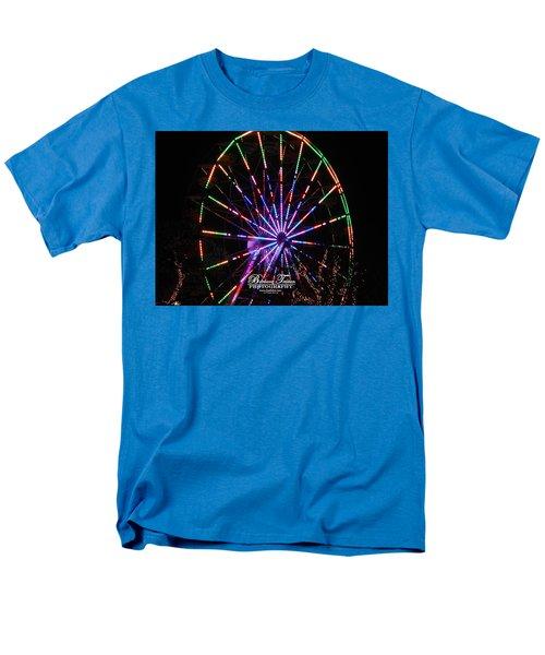 Trail Of Lights #7427 Men's T-Shirt  (Regular Fit) by Barbara Tristan
