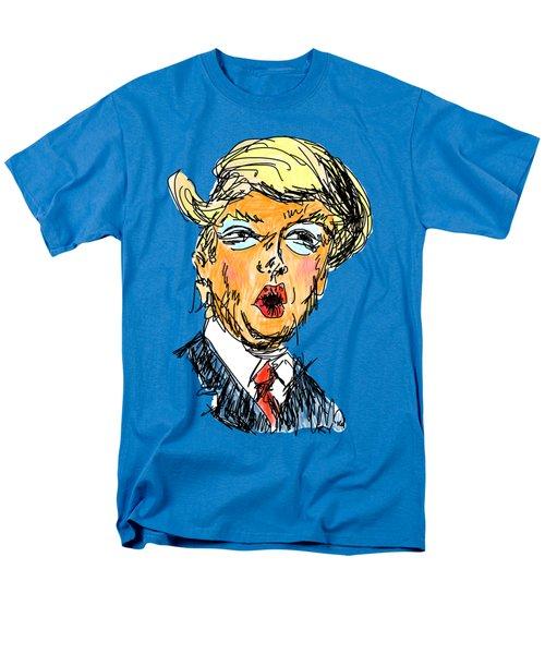 Trump Men's T-Shirt  (Regular Fit) by Robert Yaeger