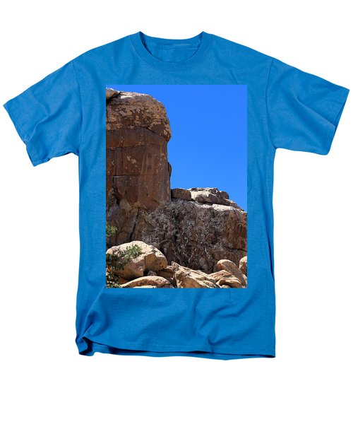 Men's T-Shirt  (Regular Fit) featuring the photograph Trunk Made Of Stone by Viktor Savchenko
