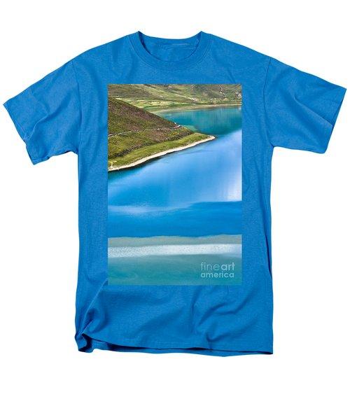Turquoise Water Men's T-Shirt  (Regular Fit) by Hitendra SINKAR