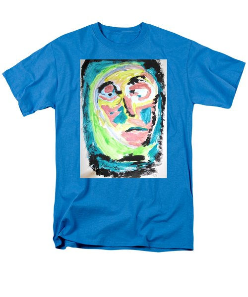 Men's T-Shirt  (Regular Fit) featuring the painting Verging On Morbidity by Esther Newman-Cohen