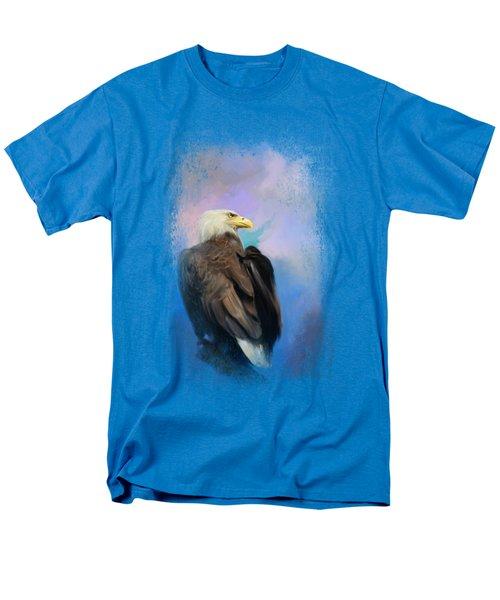 Watching Over The Heavens Men's T-Shirt  (Regular Fit) by Jai Johnson