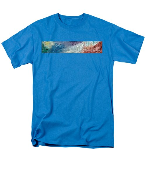 Waves Of Color Men's T-Shirt  (Regular Fit) by Gallery Messina