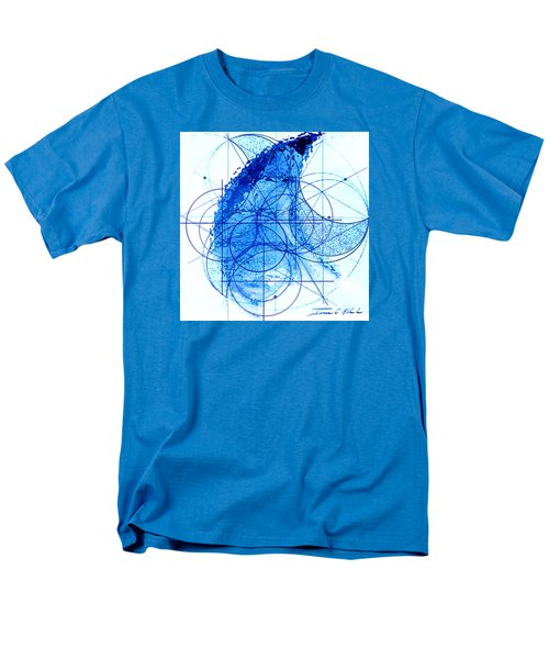 Men's T-Shirt  (Regular Fit) featuring the painting Windstorm by James Christopher Hill