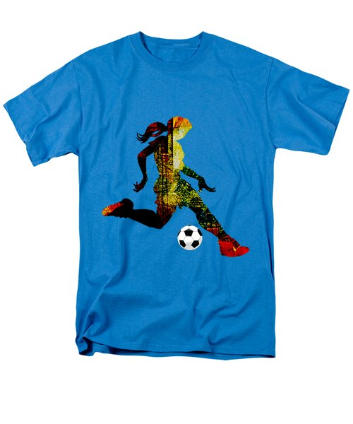 Womens Soccer Collection Men's T-Shirt  (Regular Fit) by Marvin Blaine