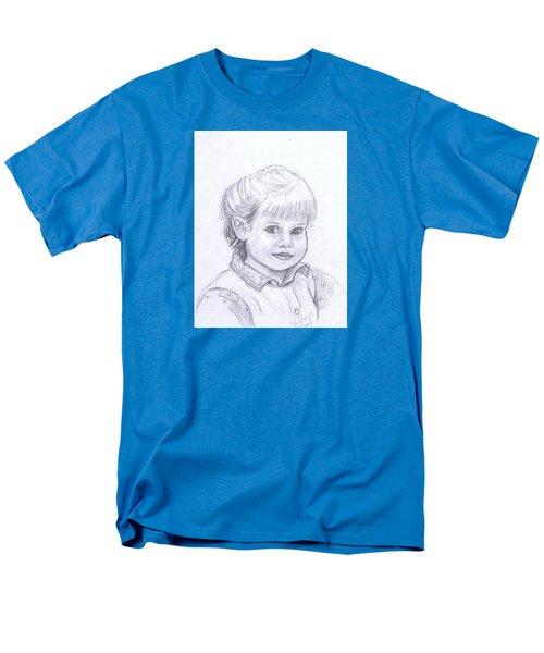 Young Girl Men's T-Shirt  (Regular Fit) by Francine Heykoop
