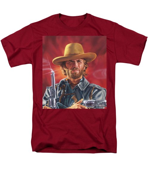 Clint Eastwood Men's T-Shirt  (Regular Fit)