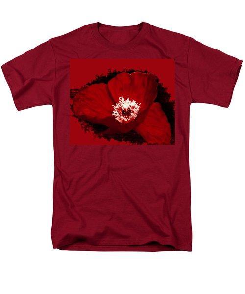 Poppy Men's T-Shirt  (Regular Fit) by Tiffany Erdman