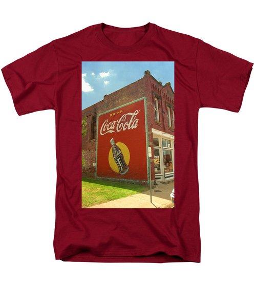 Route 66 - Coca Cola Ghost Mural Men's T-Shirt  (Regular Fit)