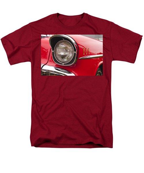 1957 Chevrolet Bel Air Headlight Men's T-Shirt  (Regular Fit) by Glenn Gordon