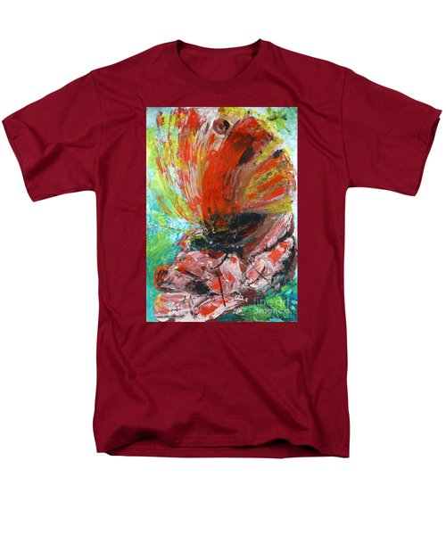 Butterfly And Flower Men's T-Shirt  (Regular Fit) by Jasna Dragun