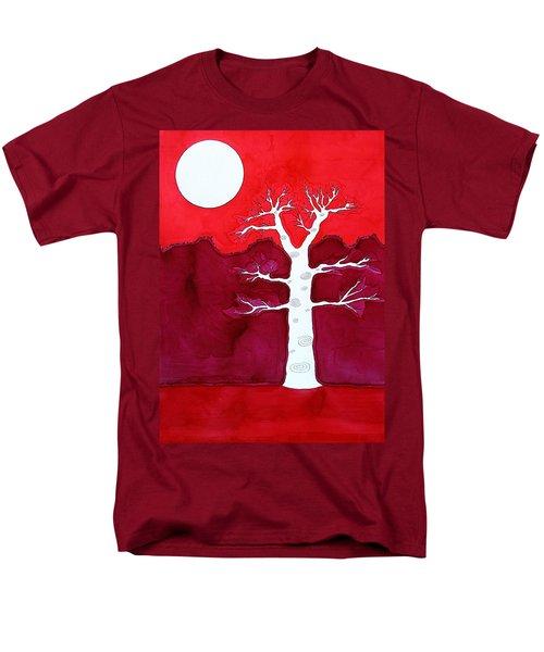 Canyon Tree Original Painting Men's T-Shirt  (Regular Fit) by Sol Luckman