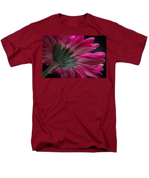 Pink Flower Men's T-Shirt  (Regular Fit) by Edgar Laureano