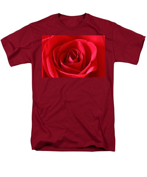 Red Rose Men's T-Shirt  (Regular Fit) by Peter Lakomy